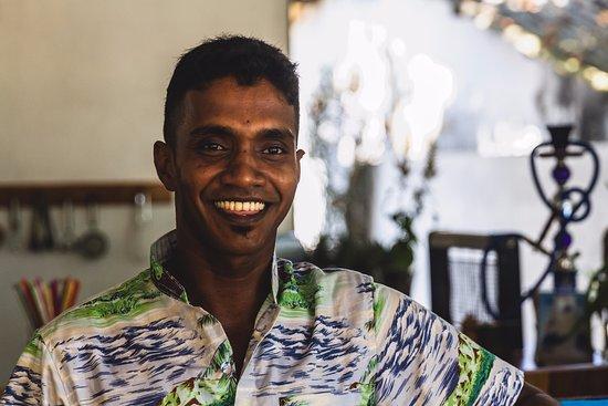 Habaraduwa, Sri Lanka: Kitchen Helper - NIHAL