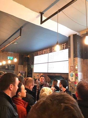 Photo of Bar BrewDog Cardiff at 31 Westgate Street, Cardiff CF10 1DA, United Kingdom