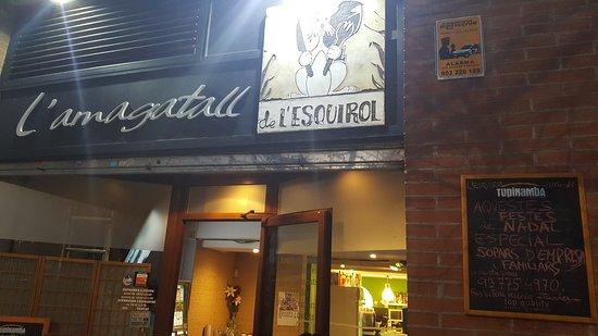Martorell, İspanya: la façana de l'amagatall de l'ESQUIROL