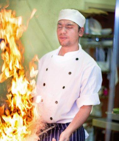 Norwood, Avustralya: Chef Resham in action
