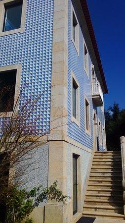 Santa Cruz do Douro, Portekiz: fachada principal