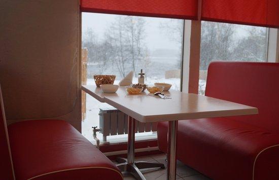 Losevo, Russia: Завтрак с видом на Вуоксу