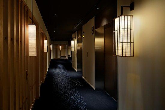 Hotel Kanra Kyoto: 客室廊下