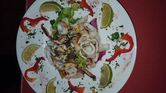 Sanxo Panxa : Salade de calamars persillé