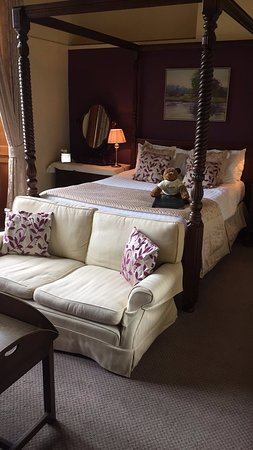 Mappleton, UK: Four Poster Room