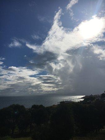 Penneshaw, Australia: View from balcony