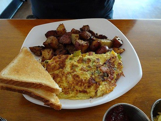Starke, FL: Western omelette