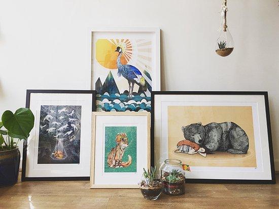 We also offer a fully bespoke framing service, for any artwork ...