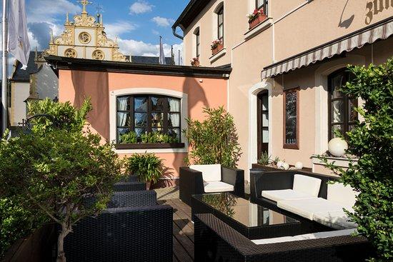 Dettelbach, Γερμανία: AKZENT Hotel Franziskaner_Lounge