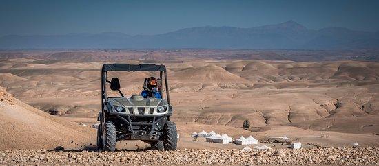 Dunes & Desert: Quad biking in the Agafay Desert