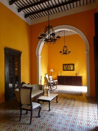 The Villa Merida: Sitting area
