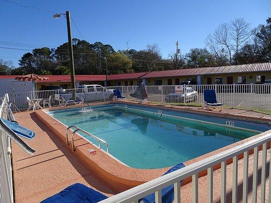 Starke, FL: Hotel Pool