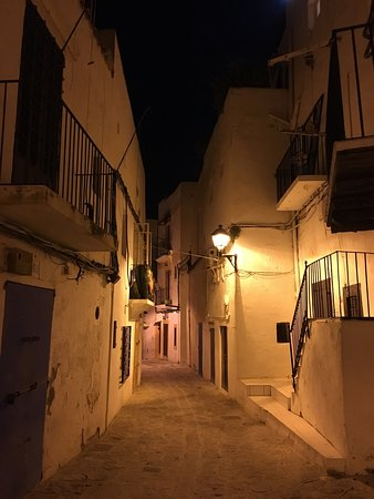 Photo of Tourist Attraction Dalt Vila at Old Town, Ibiza Town, Spain