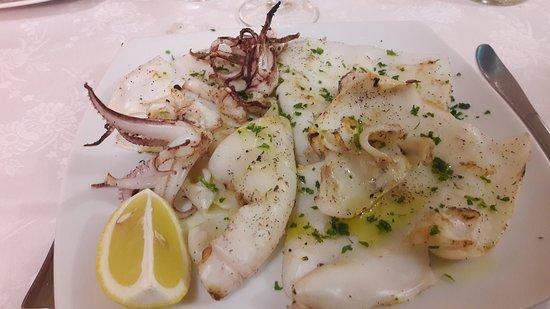 Chiesina Uzzanese, Italy: Calamari