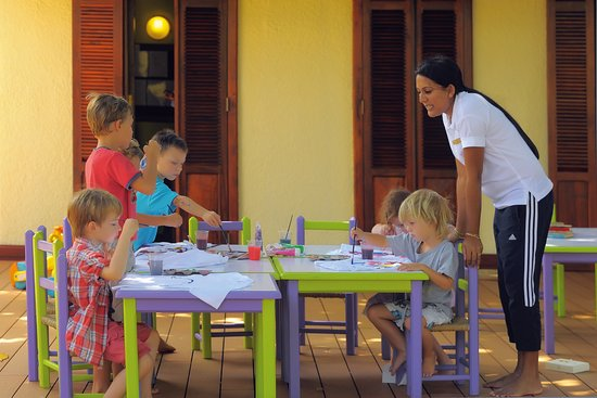 Dinarobin Beachcomber Golf Resort & Spa: Kids club