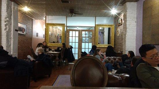 Photo of French Restaurant La Maison Du Macaron at 132 W. 23rd St, New York, NY 10011, United States