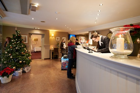 Hotel Leopold Brussels: Reception at Christmas