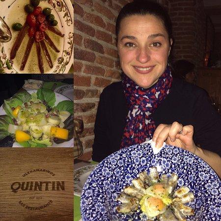 Ultramarinos Quintin: Pescado, ensalada, anchoas, vino...