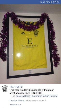 Rickmansworth, UK: PROUD SPONSORS OF TREE FC