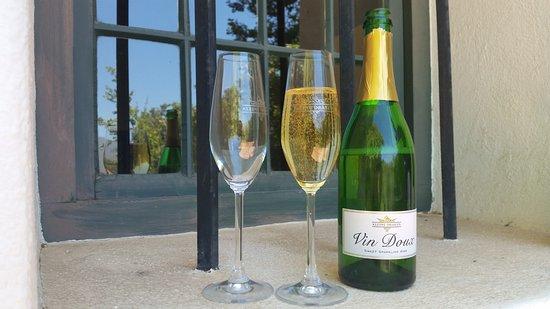 Paarl, Afrika Selatan: Vin Doux Sweet Sparkling Wine