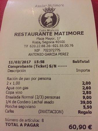Riaza, Spain: Buen cordero asado