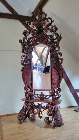 Tume, Latvia: mirror on the 2nd floor