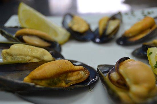 Lucena, España: mejillones gallegos lavilladebaco