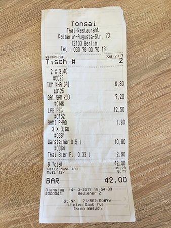 Photo0 Jpg Picture Of Tonsai Thai Restaurant Berlin Tripadvisor