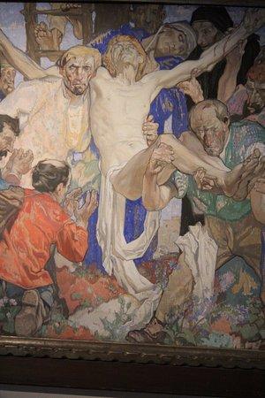 Arentshuis : Jesus pulled off his cross