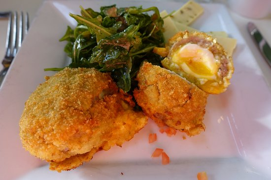 Midway, UT: Scotch eggs for brunch