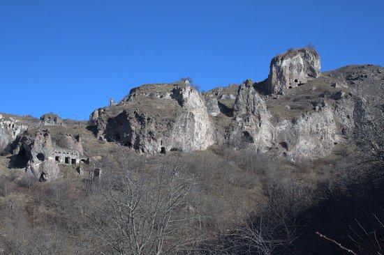 Syunik Province, Arménie : Пещерный город