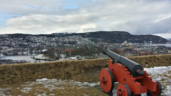 Photo of Historic Site Kristiansten Fortress at Rosenborg, Trondheim 7016, Norway
