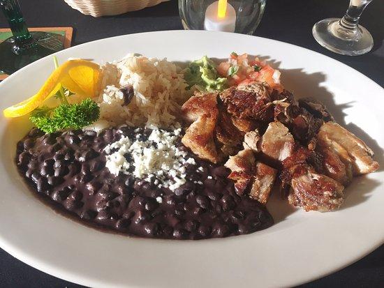 Hanapepe, هاواي: Pork Belly Entree - El Azteca Fine Mexican Dining, Hanapepe HI