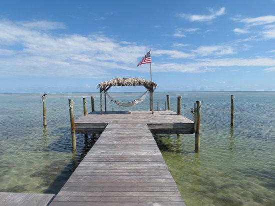 The Moorings Village and Spa: Possibly the best hammock in the Keys.