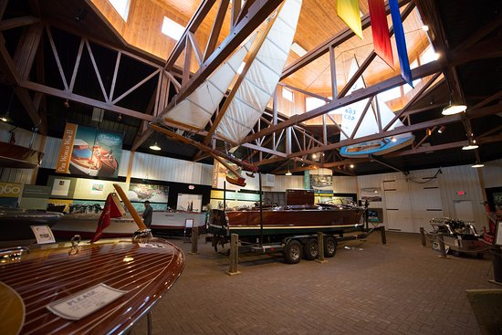 Alexandria, MN: North gallery of the Legacy of the Lakes Museum