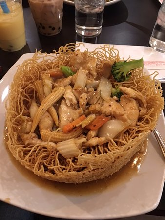 Willow Grove, PA: Pan Fried Noodles with Chicken