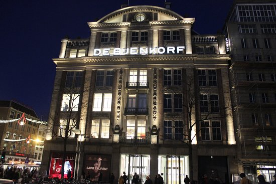 Photo of Department Store De Bijenkorf at Dam 1, Amsterdam 1012 JS, Netherlands