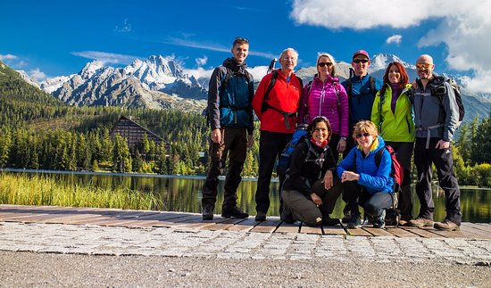 Puchov, Slovaquie : Photo before a hike in the High Tatras