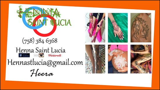 Henna crown @ saint Lucia - Video of Henna Saint Lucia, Gros
