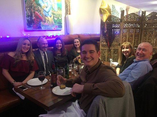 Rainhill, UK: Blue New Year's Eve and grand charity night