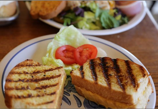 Kewanee, IL: Grilled cheese on their freshly made bread.
