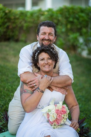 Sunscape Sabor Cozumel : The wedding day of Tina Zimel and I on March 3, 2017. This is taken right by the Honeymoon Suite