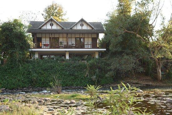 Muang La, Laos: River room from the island