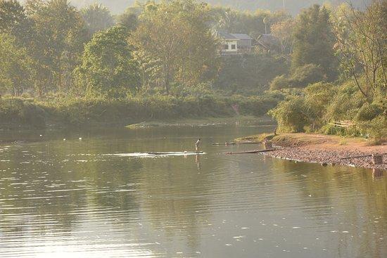 Muang La, Laos: River room view