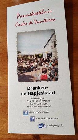 Hollum, Países Baixos: De kaart