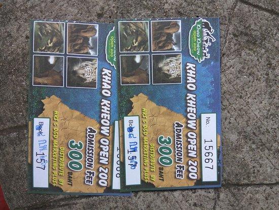 Khao Kheow Open Zoo: билеты