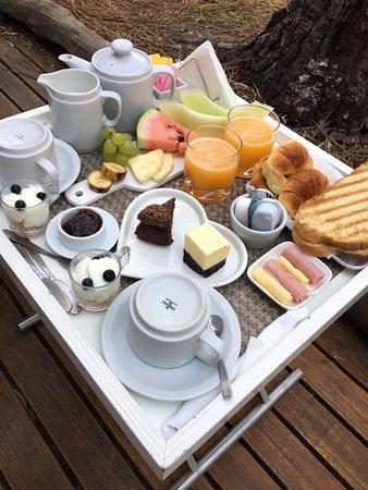 Terral Suites: Desayuno!
