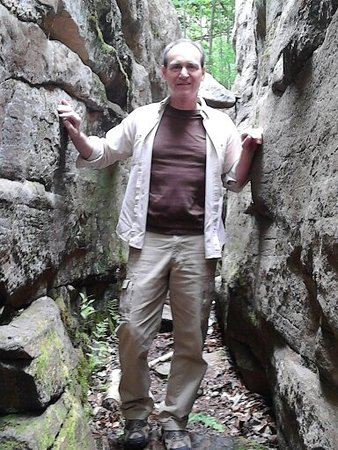 """Forksville, PA: Massive boulders to explore and a great place to play """"hide and go seek!"""""""