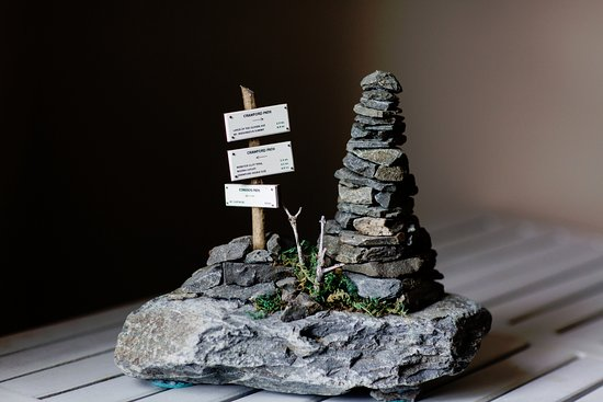 Bethlehem, Nueva Hampshire: Cairns made by local artist