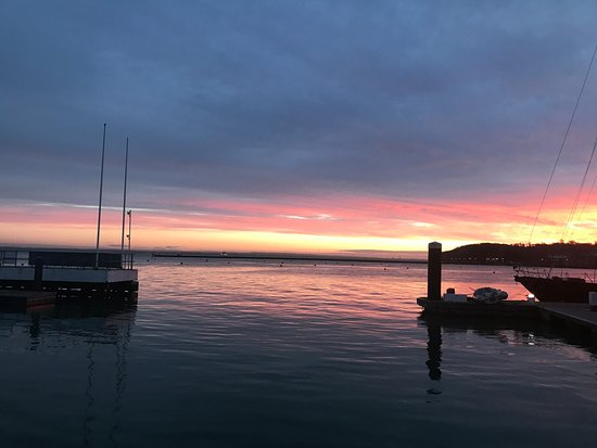 Hamble, UK: Morning in Cowes Harbour